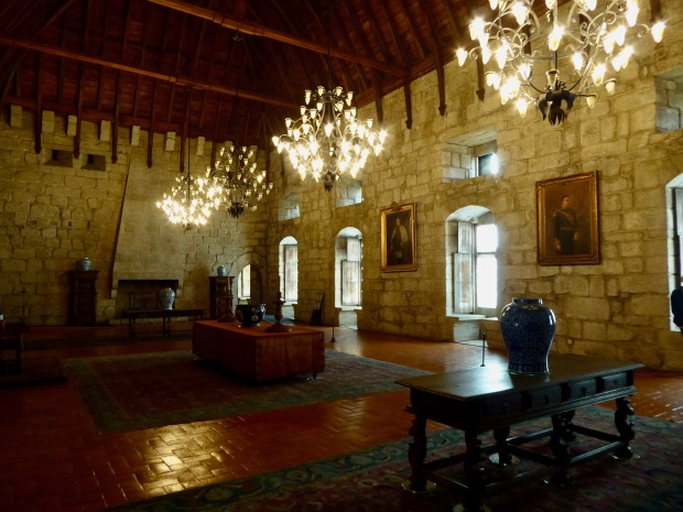Ducal Palace of Braganza, Guimaraes, Portugal.