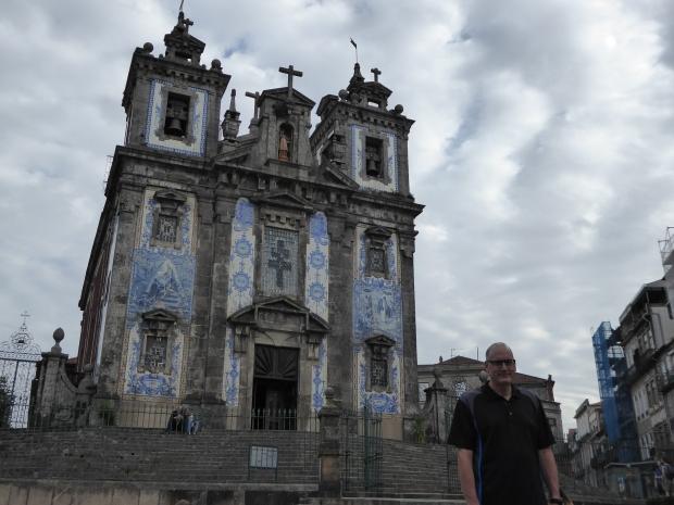 Igreja de Sto Ildefonso, Porto, Portugal.