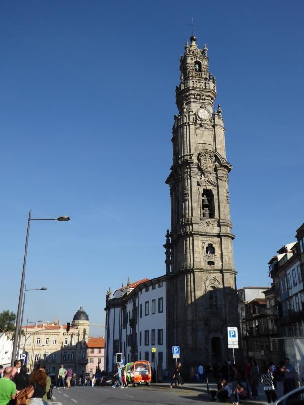 Torre dos Clerigos, Porto, Portugal.