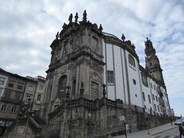 Irgreja e Torre dos Clergios. Porto, Portugal