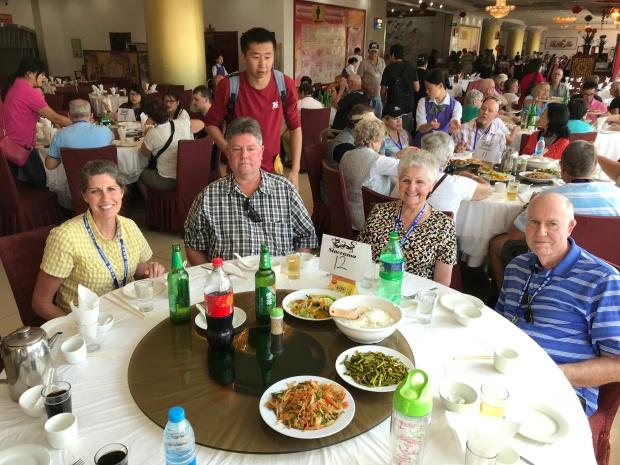 Beijing Great Wall Lunch