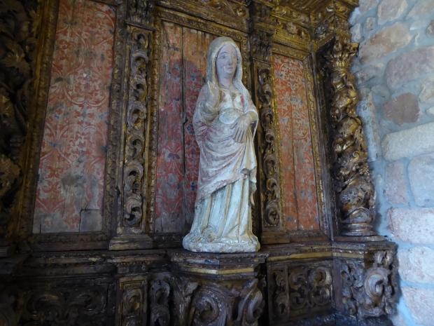 Chapel of São Pedro de Balsemão, Lamego, Portugal.