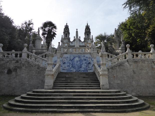Santuário de Nossa Senhora dos Remédios, Lamego, Portugal.