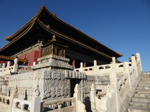 Hall of Heavenly Purity, Forbidden City, Beijing, China