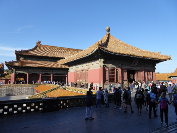 Hall of Union and Hall of Earthly Tranquility, Forbidden City, Beijing, China