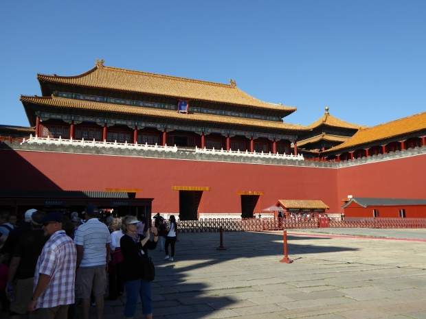 Meridian Gate, Forbidden City, Beijing, China