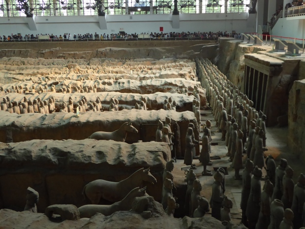 Terra Cotta Warriors Museum, Xi'an, China