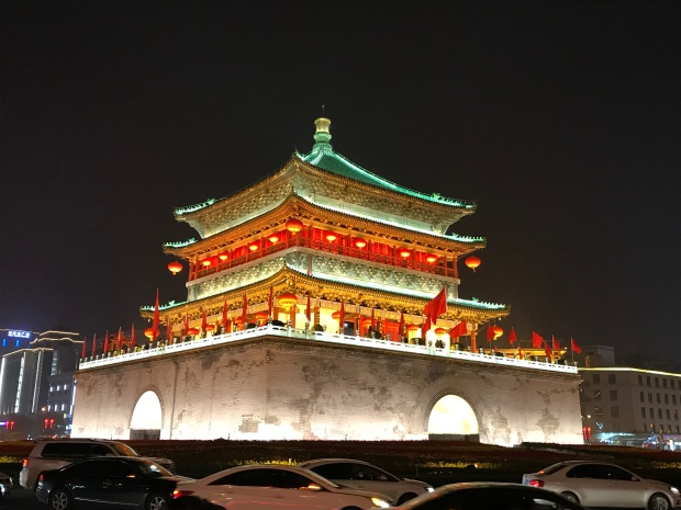 Bell Tower, Xian China.