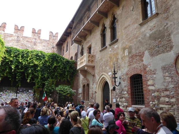 Juliet's home, Verona, Italy.