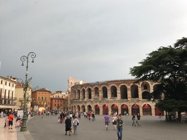 Roman Amphitheater, Verona, Italy