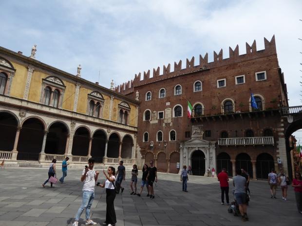 Piazza Signori, Verona, Italy