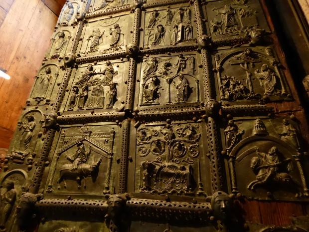 San Zeno bronze door panels, Vernona, Italy