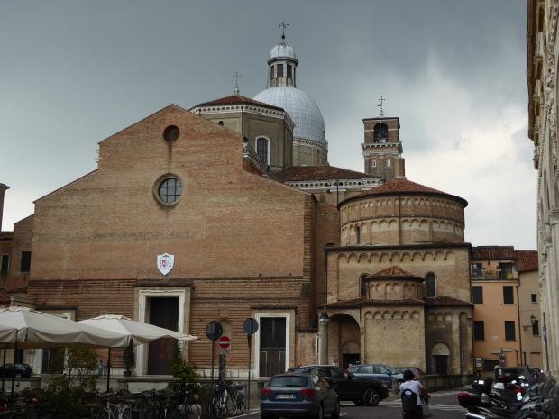 Padua Duomo and Baptistery, Padua, Italy