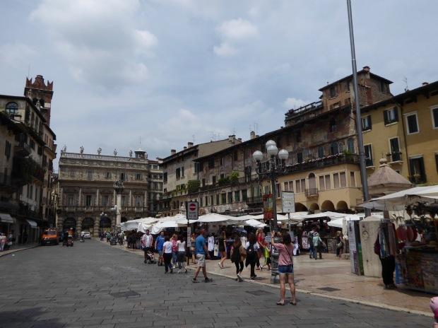Pizza Erbe, Verona, Italy
