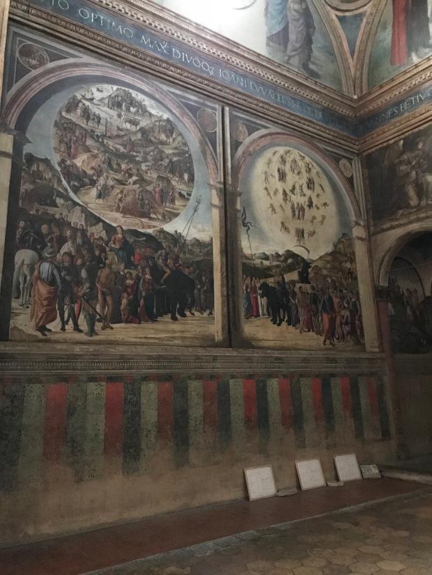 Bentivoglio chapel, San Giacomo Maggiore Church, Bologna, Italy