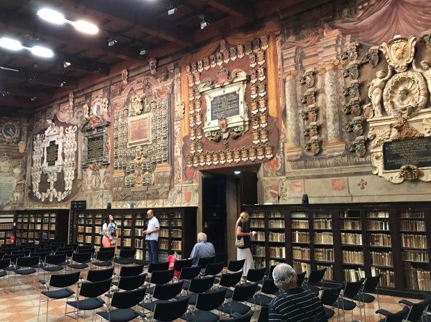 Stabat Mater Hall, Bologna University, Bologna, Italy