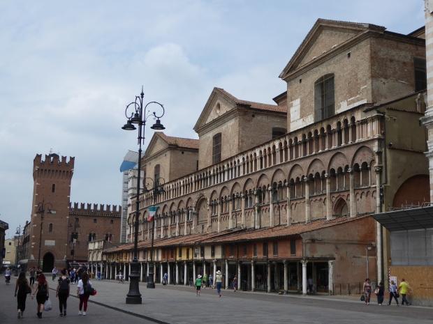 Piazza Municipale, Ferrara, Italy