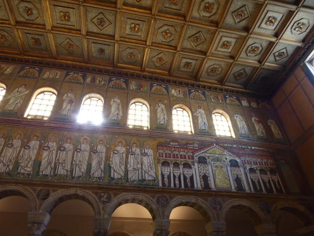 Sant' Apollinare interior, Ravenna, Italy