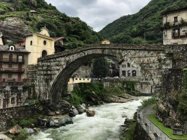 Pont-Saint-Martin, Aosta Valley, Italy
