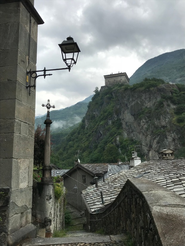 Verrès Castle, Aosta Valley, Italy
