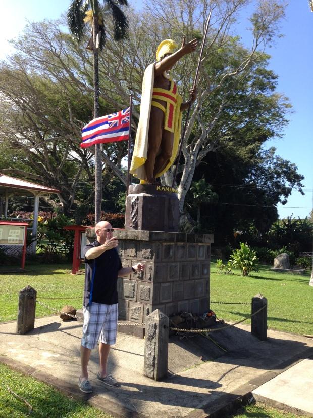 King Kamehameha, Hawaii