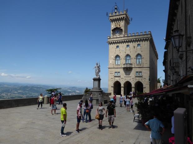 Public Palace, San Marino, Italy