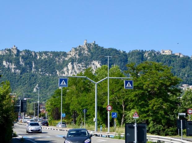 Mt. Titano, San Marino, Italy