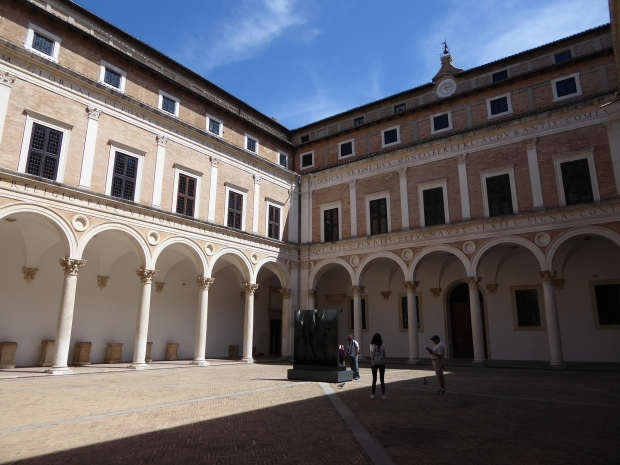 Cortile d'Onore, Ducal Palace, Urbino, Italy