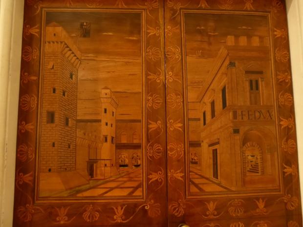 Studiolo, Ducal Palace, Urbino, Italy
