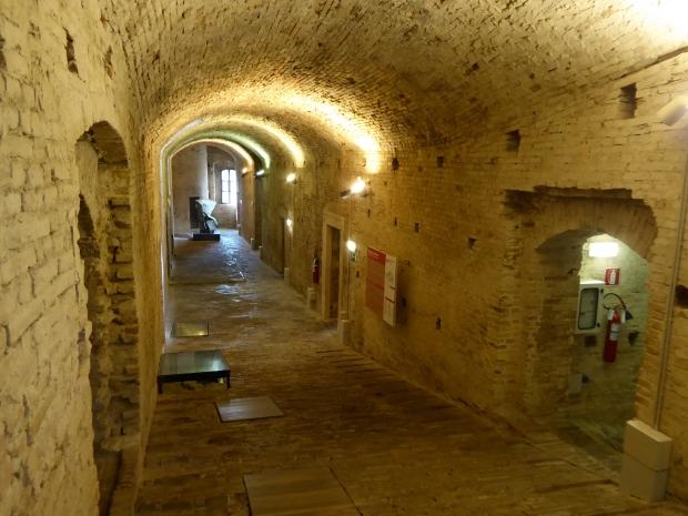 Ducal Palace basement, Urbino, Italy