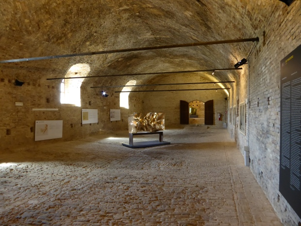 Horse stables, Ducal Palace, Urbino, Italy
