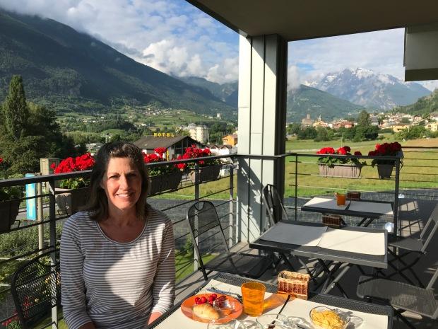 La Bicoque hotel, Aosta, Italy