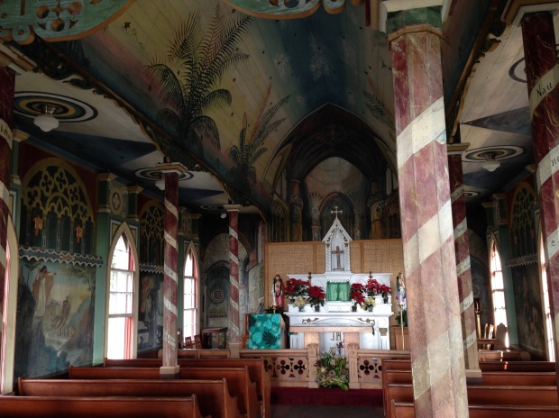 Saint Benedict's Painted Church, Honaunau, Hawaii