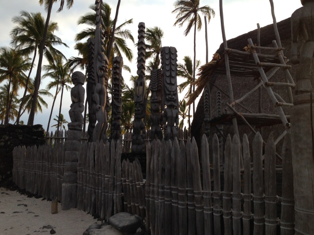 Pu'uhonua o Honaunau National Historic Site, Hawaii