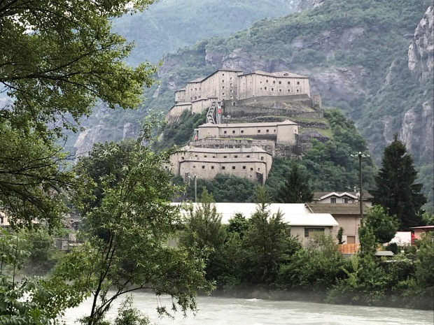 Bard Fortress, Aosta Valley, Italy