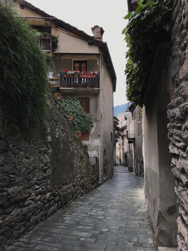 Bard Village, Aosta Valley, Italy