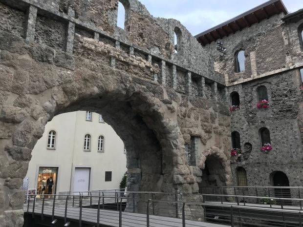 Porta Pretoria, Aosta, Italy