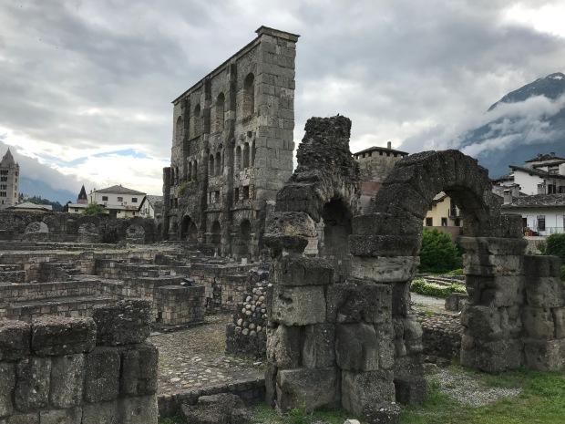 Roman Theater, Aosta, Italy