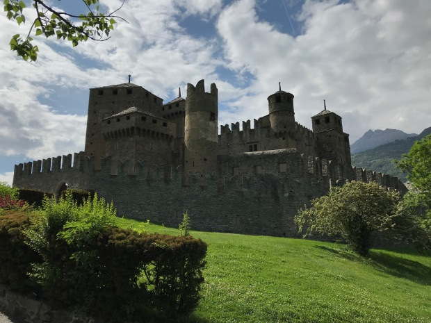Fenis Castle, Aosta Valley, Italy