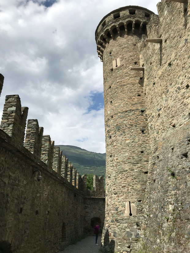 Fenis Castle, Aosta Valley, Italy