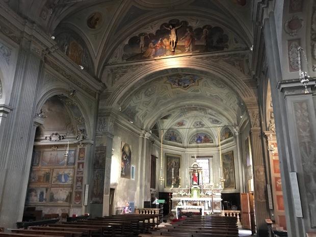 Stresa Church, Lake Maggiore, Italy