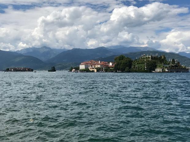 Borremeo Palace, Stresa, Lake Maggiore, Italy