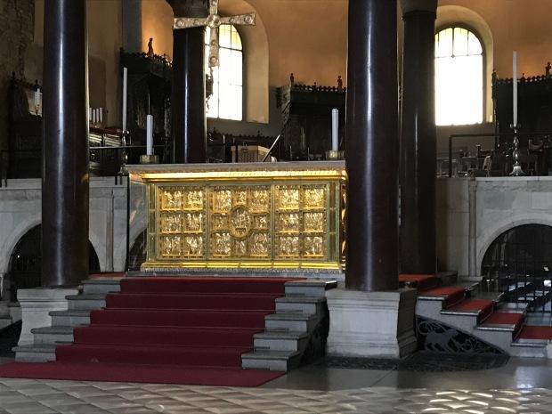Altar, Basilica Sant' Ambrogio, Milan, Italy