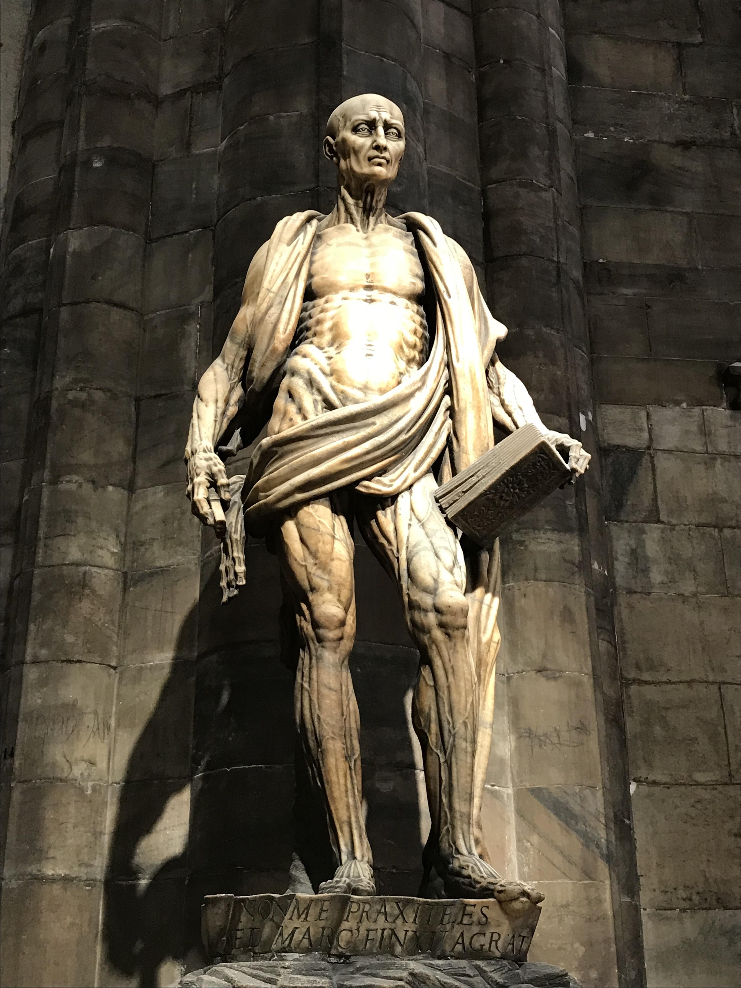 San Bartolomeo, Milan Cathedral, Italy