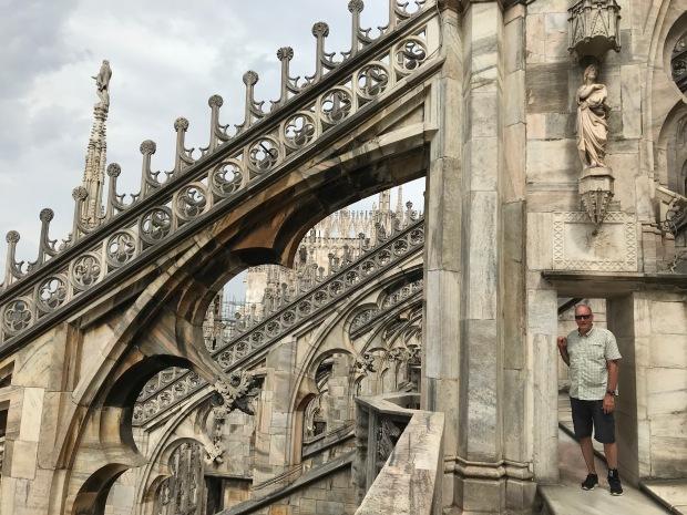 Milan Duomo roof