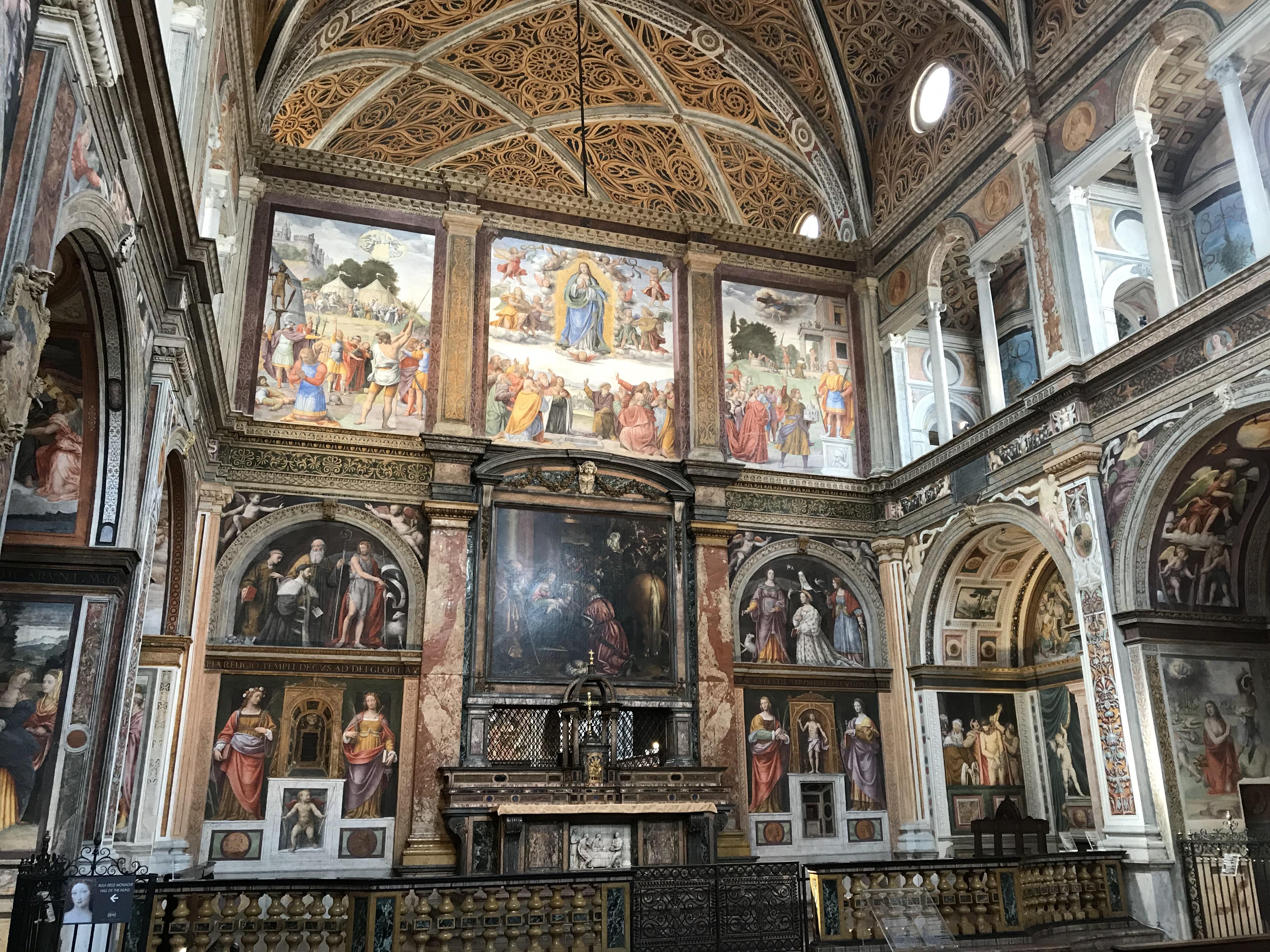 San Maurizio al Monastero Maggiore, Milan, Italy
