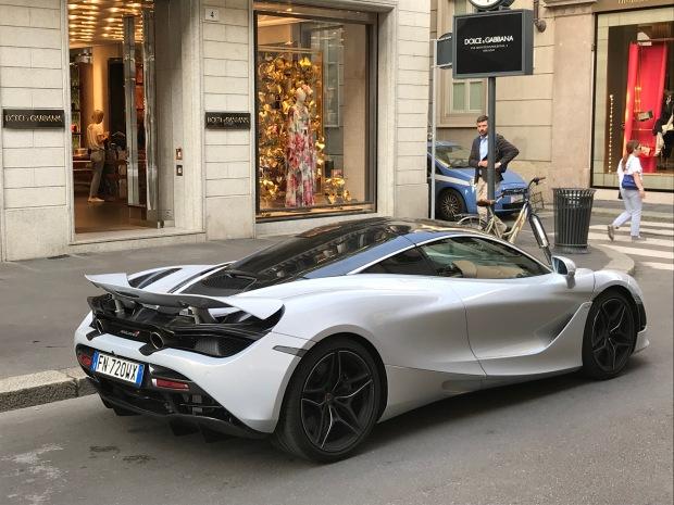 McLaren, Milan Italy.