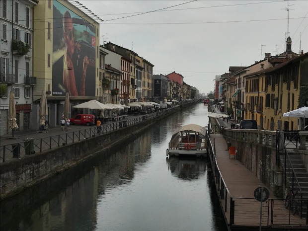 Canal, Milan, Italy