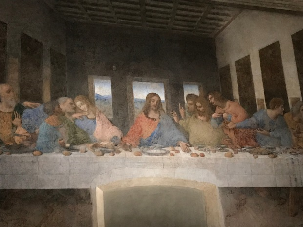 The Last Supper, Leonardo da Vinci, Milan, Italy