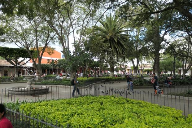 Town square, Antigua, Guatemala